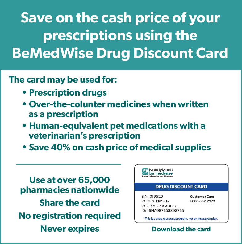 Download Drug Discount Card